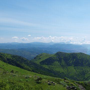 Alta Via panorama monte Argentea - foto E.Monaci