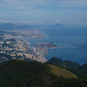 Genova dal Parco del Beigua - foto E.Monaci