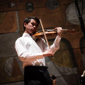 Kevin Zhu, vincitore premio Paganini 2018