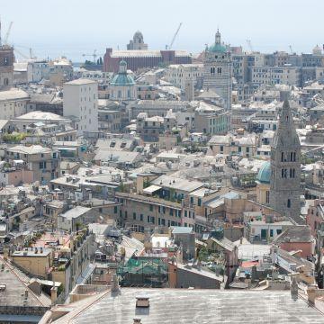 Panorama sui tetti del centro storico