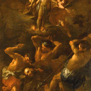 Museo dei Cappuccini - Pier Francesco Guala, Martirio e la gloria di San Fedele