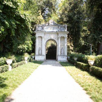 Villa Durazzo Pallavicini: Arco di Trionfo - Foto Ufficio Comunicazione Città Me