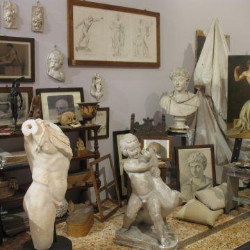 Accademia Ligustica - Sala della pittura accademica -  foto © Francesco Manias