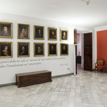 Accademia Ligustica - ingresso -  foto © Francesco Manias