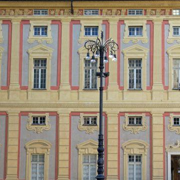 Palazzo Ducale - prospetto da Piazza De Ferrari
