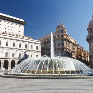 Piazza De Ferrrari - Accademia ligustica di belle arti
