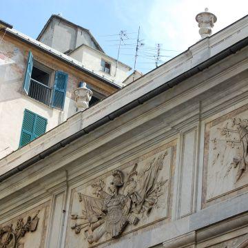 Piazza Banchi - Loggia - dettaglio