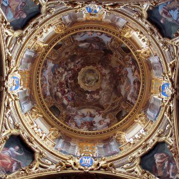 Basilica SS Annunziata del Vastato - affreschi G.A.Ansaldo -foto Sailko  CC30