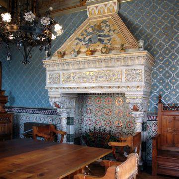 Castello d'Albertis - Sala delle meridiane