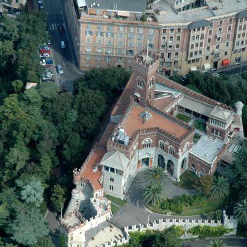 Castello d'Albertis - panoramica