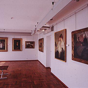 Museo Raccolte Frugone - Sala degli artisti stranieri - DOCSAI - ©Archivio fotog