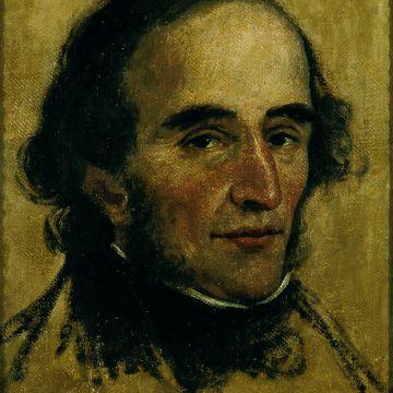 Ritratto del musicista Nicolò Paganini - Pelagio Palagi ( Bologna 1775 - Torino