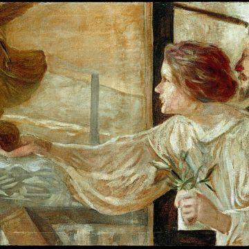 Wolfsoniana - Galileo Chini - La fabbrica, 1901