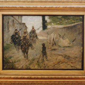 Giovanni Fattori - Pattuglia di cavalleggeri - 1885/90 - DOCSAI - ©ArchfotoGE