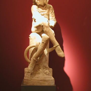 Giulio Monteverde -Colombo giovinetto- 1870 - ©DOCSAI - Archivio fotografico GE