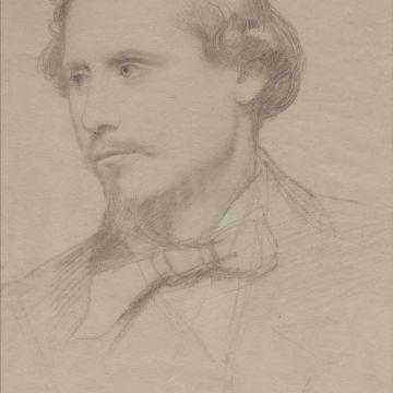 Roberto Bompiani - Ritratto di Goffredo Mameli (Museo Centrale del Risorgimento)