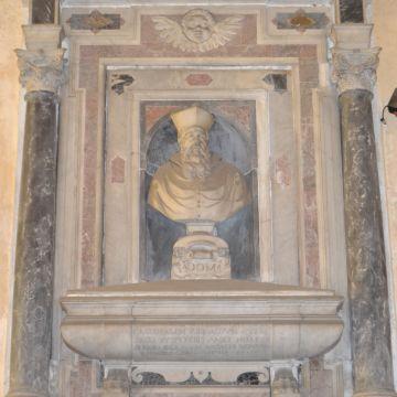 Abbazia del Boschetto, Monumento G.Grimaldi