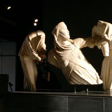 Sant'Agostino, G.Pisano, Monumento a Margherita di Brabante, ©genovacittadigital
