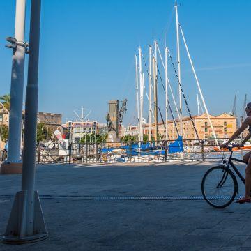 A Genova in bicicletta