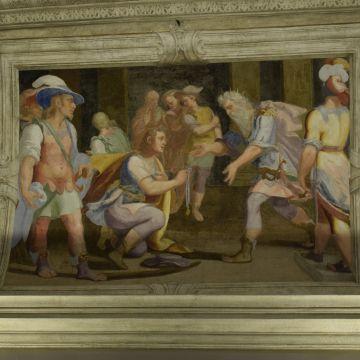 Palazzo De Nigro - decorazione ad affresco - foto: © Camilla Severino