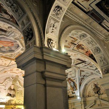 Palazzo Tobia Pallavicini - atrio -  foto: © Camilla Severino