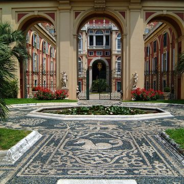 Le jardin du palazzo reale for Villa du jardin singapore