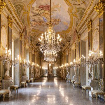 Palazzo Reale - Galleria degli Specchi