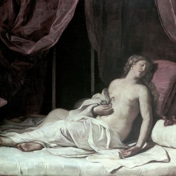 Giovan Francesco Barbieri il Guercino - Cleopatra morente - © Musei di StradaNuo