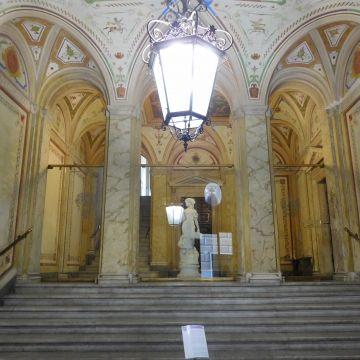 Palazzo  Pessagno - atrio - foto: Wikipedia  CC-BY-SA-4.0
