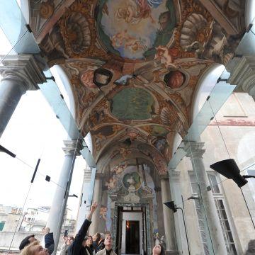 Paolo Gerolamo Piola - particolare della Loggia delle rovine - ©Studio Leoni