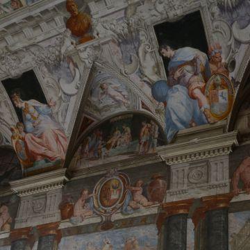 Palazzo Belimbau - affreschi di Lazzaro Tavarone foto: Carlo Dell'Orto CC4.0