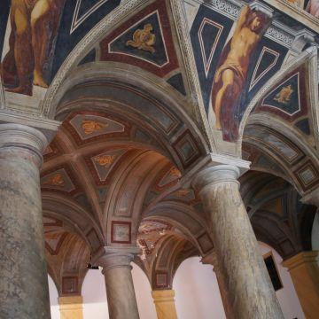 Palazzo Giacomo Lomellini - decorazione dell'atrio - foto: Superchilum CC 4.0