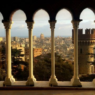 Landscape from Castello d'Albertis