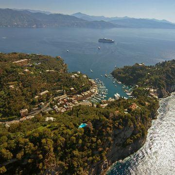 Portofino dall'alto e Tigullio