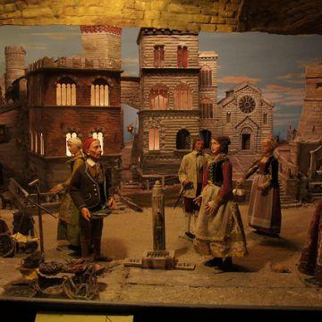 Presepi genovesi - chiesa della Madonnetta - Rinaldi - ©genovacittadigitale