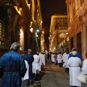 Holy Thursday procession - Foto: L. Zini @Priorato Confraternite Genova
