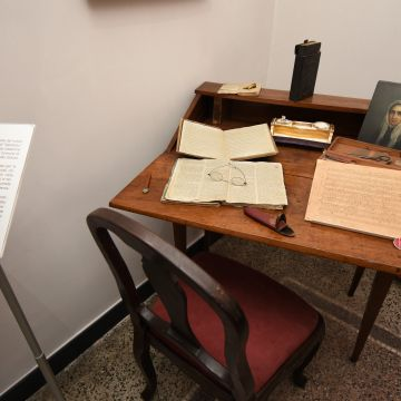 Museo del Risorgimento, Ricostruzione dello studio di Giuseppe Mazzini