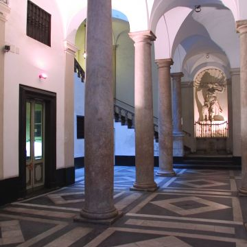 Palazzo Cosmo Centurione (poi Durazzo Pallavicini) - atrio