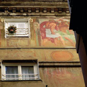 Palazzo Nicolò Spinola - decorazione della facciata