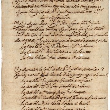 Archivio di Stato Genova, il Rollo del 1588