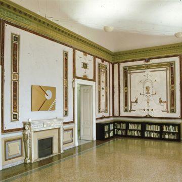 Museo d'arte contemporanea Villa Croce - Sala Caminio - piano terra