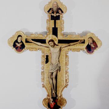 Antonio Brea - Crocefisso - XV secolo - ©Dario Grimoldi