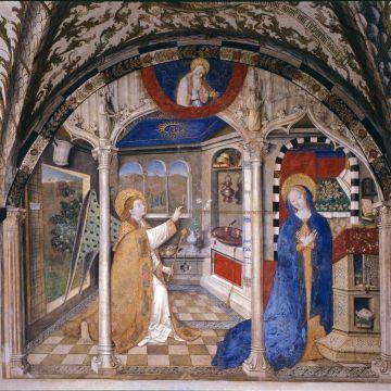 Giusto di Ravensburg - Annunciazione - 1451 - ©Archivio Scala