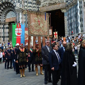Celebrations in honour of San Giovanni Battista