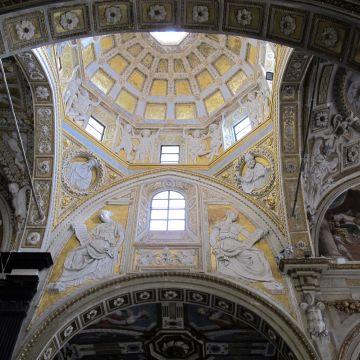 Chiesa di San Matteo, Montorsoli, decorazione a stucco - foto: Sailko CC 3.0