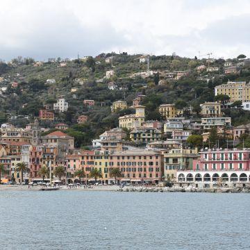 Santa Margherita dal mare - Foto Ufficio Comunicazione Città Metropolitana di Ge