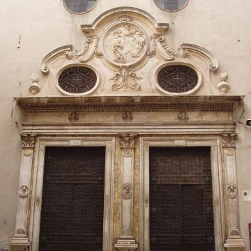 Il Santuario di Santa Caterina da Genova - particolare della facciata