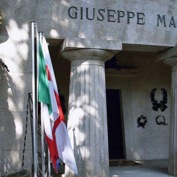 Giuseppe Mazzini - Cimitero di Staglieno - ©genovacittadigitale