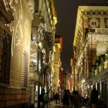 Via Garibaldi - Palazzi dei Rolli - Musei di Strada Nuova - Foto @ Rotelli