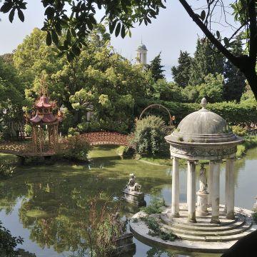 Villa Durazzo Pallavicini: Lago e Pagoda